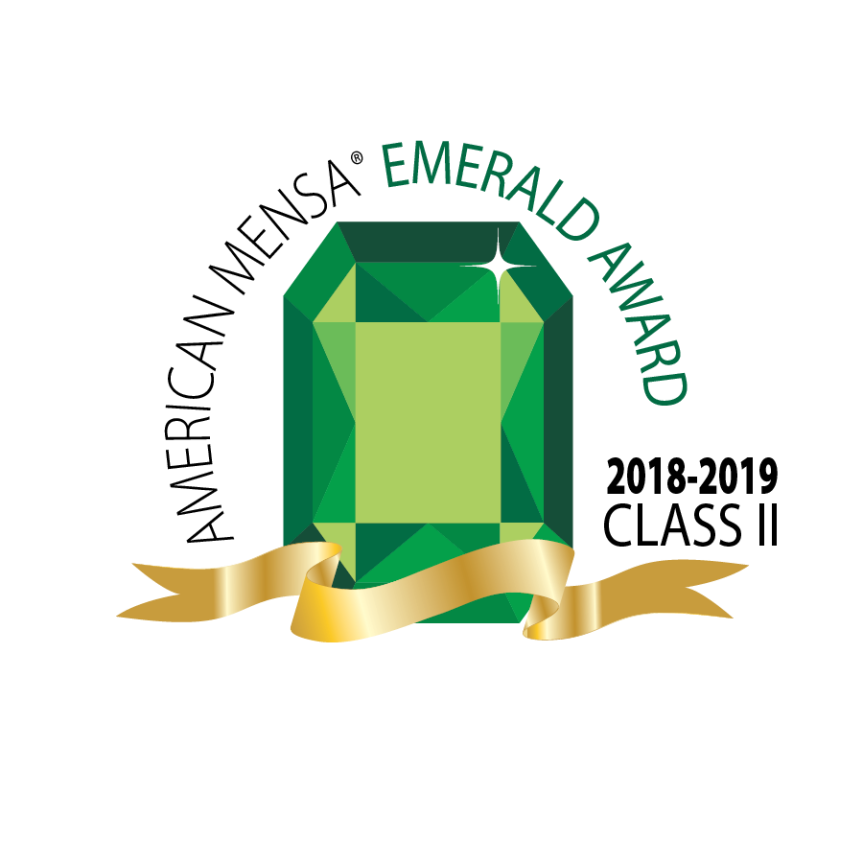 At the 2019 Local Group Awards, C/BR Mensa takes the Emerald!